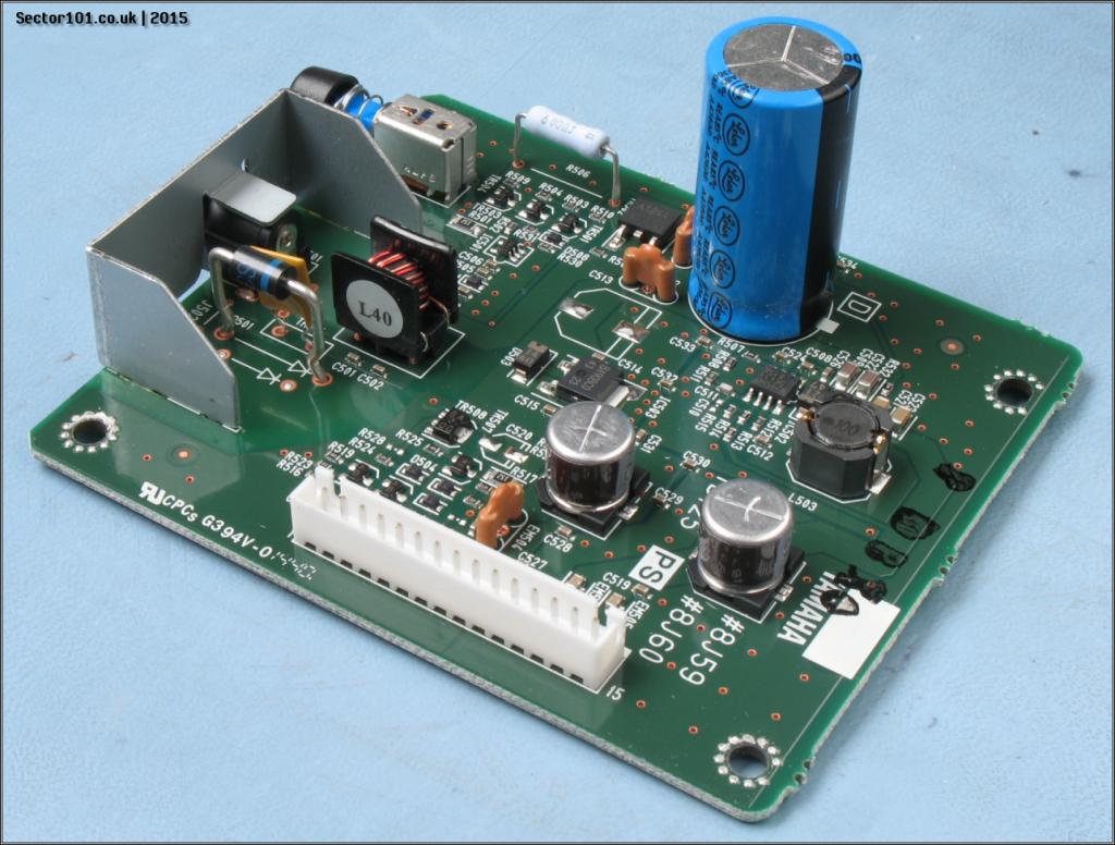 Yamaha MOXF-6 PSU PCB