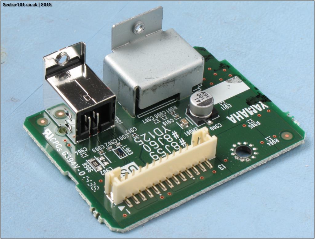 Yamaha MOXF-6 USB PCB