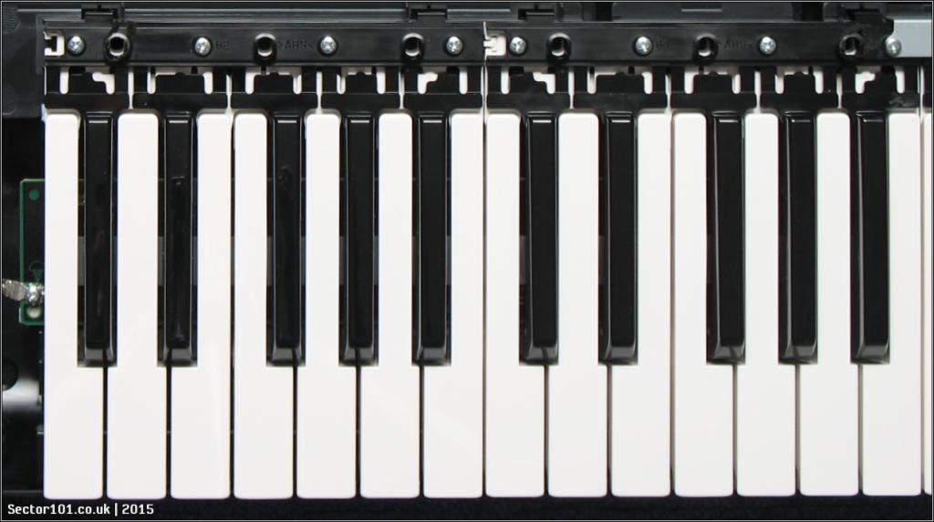 Yamaha MOXF-6 Keybed